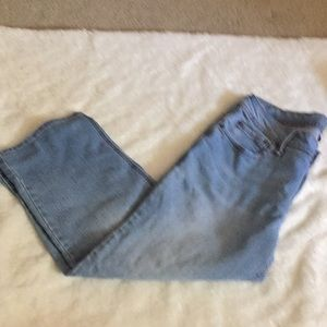 Faded Glory Jeans Capris Size 12